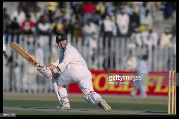 Daryl Cullinan of South Africa in action during the one day international against Australia in Pakistan Mandatory Credit Shaun Botterill/Allsport UK