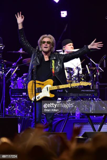Daryl Hall performs during the Daryl Hall John Oats And Tears For Fears Concert at the Prudential Center on June 17 2017 in Newark New Jersey