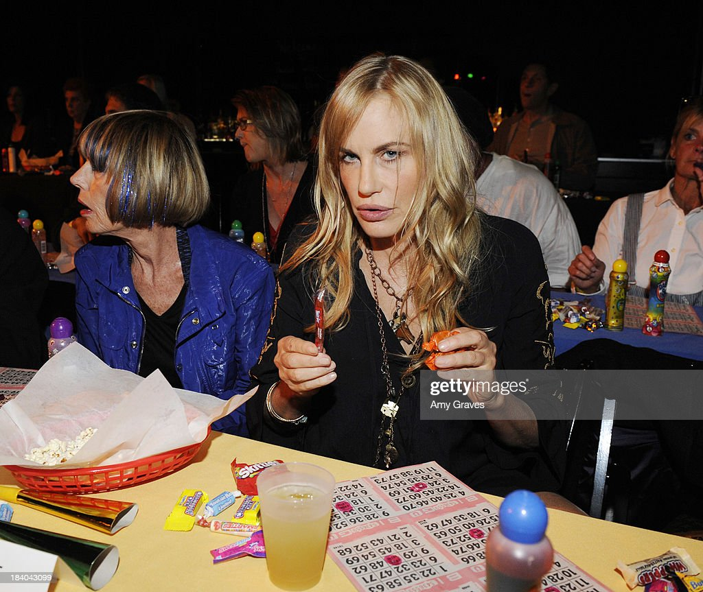 Daryl Hannah attends Bingo At The Roxy to Benefit The Painted Turtle at The Roxy Theatre on October 10, 2013 in West Hollywood, California.