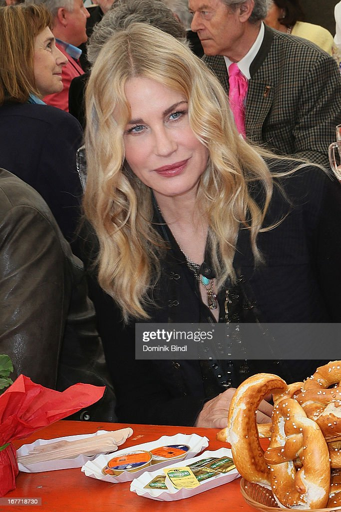 <a gi-track='captionPersonalityLinkClicked' href=/galleries/search?phrase=Daryl+Hannah&family=editorial&specificpeople=201860 ng-click='$event.stopPropagation()'>Daryl Hannah</a> attends the Gut Aiderbichl Iffeldorf Opening on April 28, 2013 in Iffeldorf, Germany.