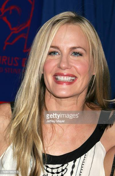Daryl Hannah during 2005 Taurus World Stunt Awards Arrivals in Los Angeles California United States