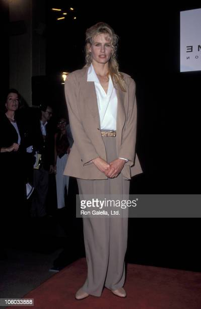 Daryl Hannah during 'Free to Laugh' Amnesty International Benefit at Wiltern Theater in Hollywood California United States