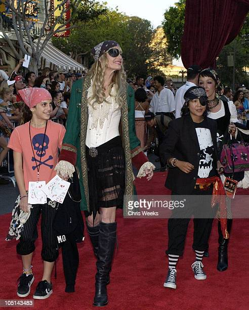 Daryl Hannah during 'Pirates of the Caribbean The Curse of the Black Pearl' World Premiere at Disneyland in Anaheim California United States