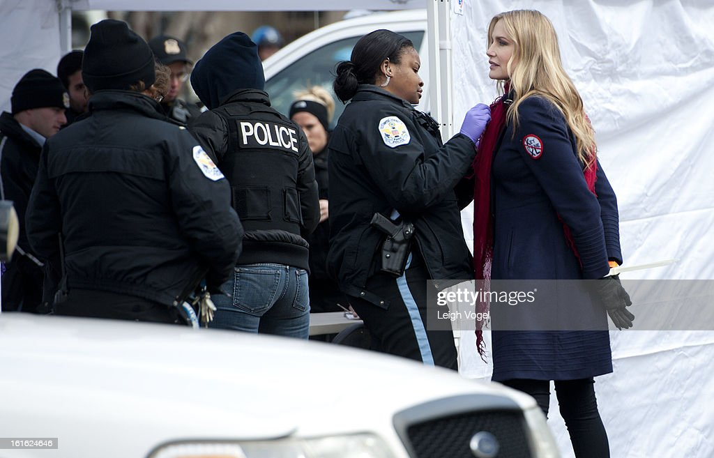<a gi-track='captionPersonalityLinkClicked' href=/galleries/search?phrase=Daryl+Hannah&family=editorial&specificpeople=201860 ng-click='$event.stopPropagation()'>Daryl Hannah</a> is handcuffed and arrested during the Keystone XL Pipeline Protest at Lafayette Park on February 13, 2013 in Washington, DC.
