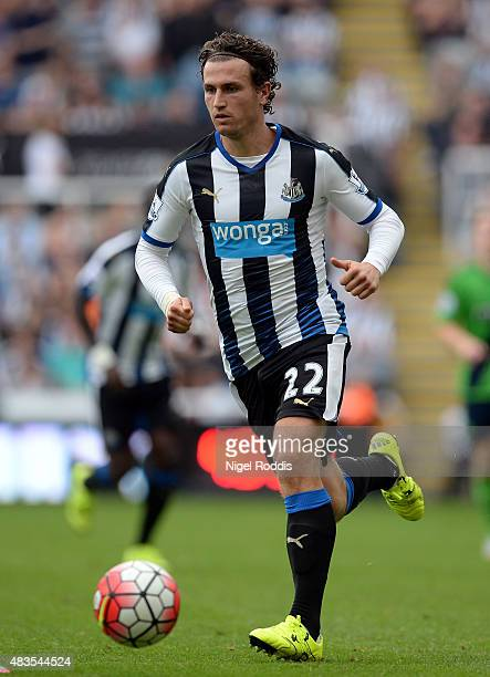 Daryl Janmaat of Newcastle United during the Barclays Premier League match between Newcastle United and Southampton at