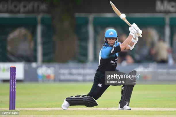 Daryl Mitchell of Worcestershire batting during the Royal London OneDay Cup match between Worcestershire Rapids and Warwickshire at New Road on May...