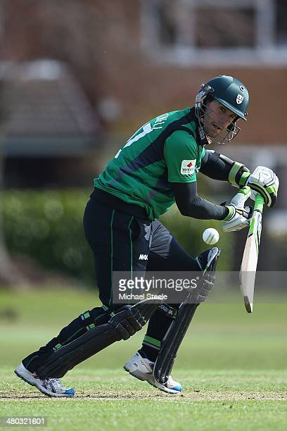 Daryl Mitchell of Worcestershire during the pre season 50 overs friendly match between Worcestershire and Gloucestershire on March 24 2014 in...