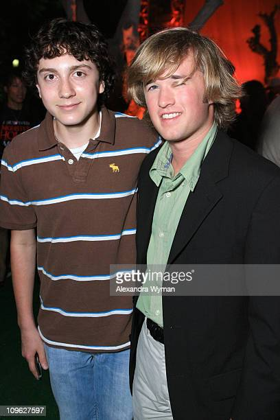 Daryl Sabara and Haley Joel Osment during 'Monster House' Los Angeles Premiere After Party at Mann Village in Westwood California United States