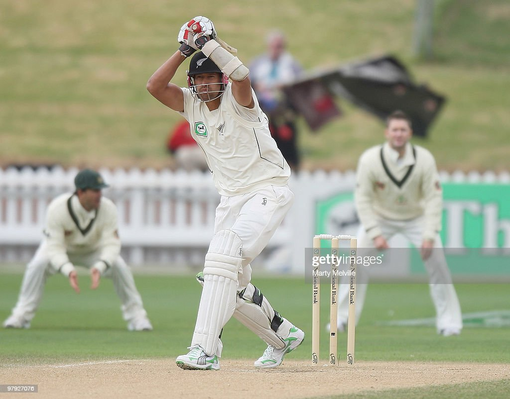 First Test - New Zealand v Australia: Day 4