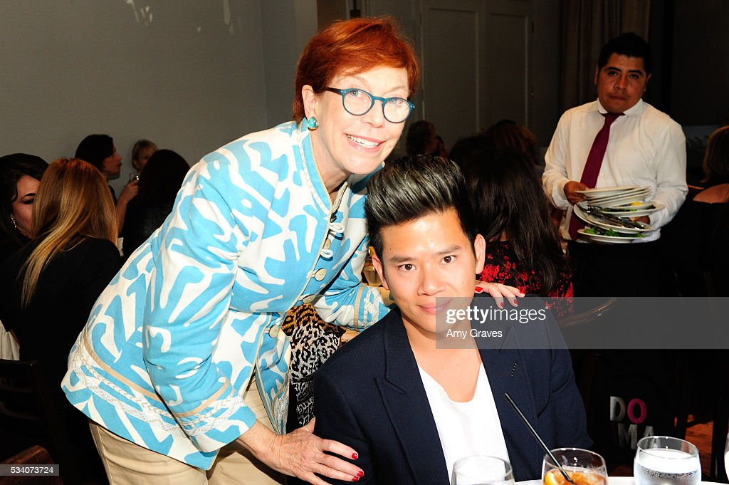 Daryl Twerdahl and Eric Chen attend the St. Vincent Meals on Wheels Beauty Event. Beauty Inside and Out on May 24, 2016 in Los Angeles California.
