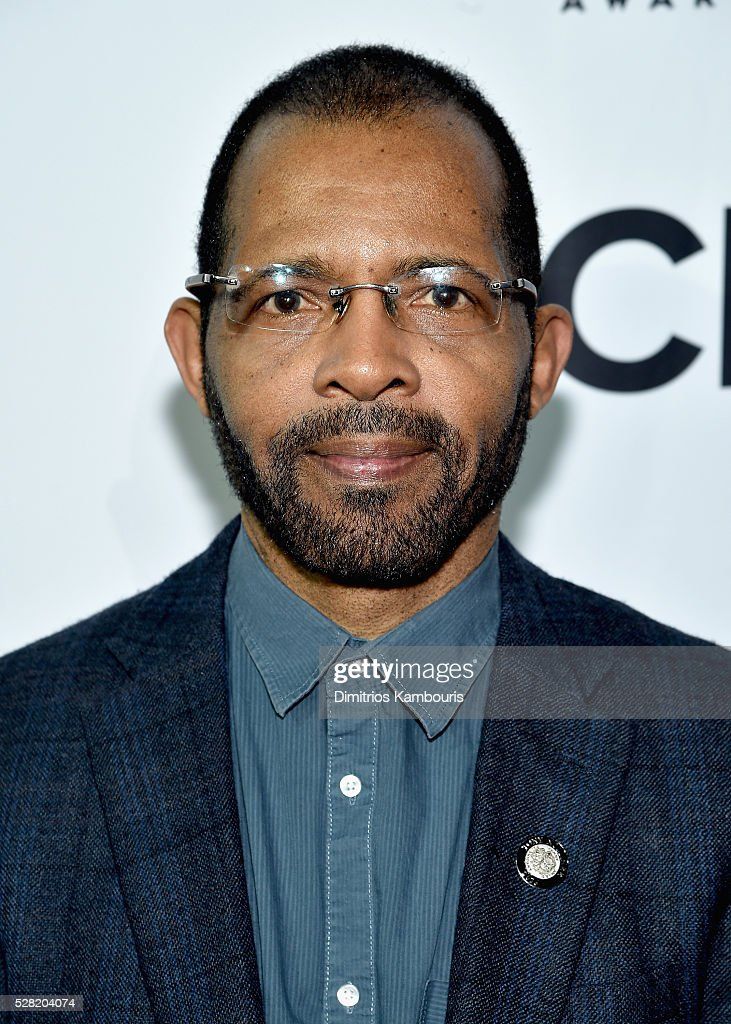 Daryl Waters attends the 2016 Tony Awards Meet The Nominees Press Reception on May 4, 2016 in New York City.