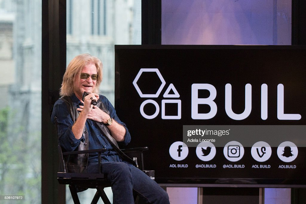 Daryll Hall discusses at AOL Studios In New York on April 29, 2016 in New York City.