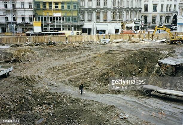 das Baugrundstück vor Baubeginn an der ABCStrasse
