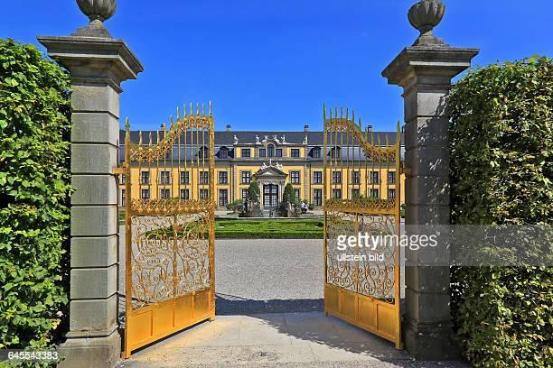 Das Goldene Tor in den Herrenhäuser Gärten in Hannover
