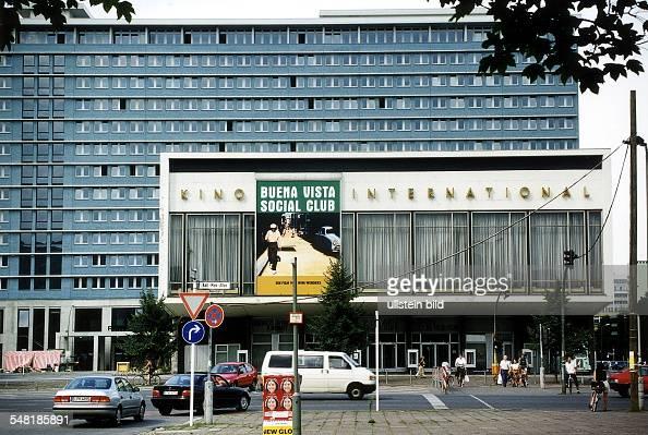 berlin mitte karl marx allee pictures getty images. Black Bedroom Furniture Sets. Home Design Ideas