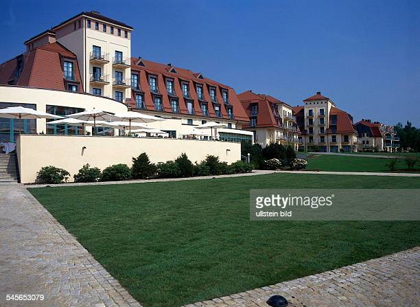 Das neue Kempinski Hotel amScharmützelsee in Bad Saarow 1997