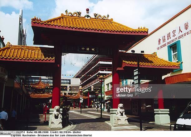 das Tor zum chinesischen Viertel 2000