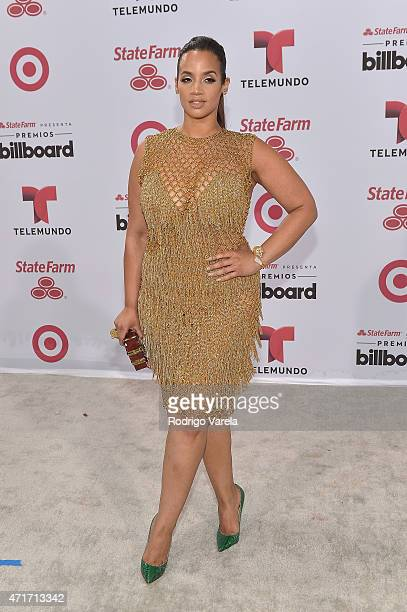 Dascha Polanco arrives at 2015 Billboard Latin Music Awards presented bu State Farm on Telemundo at Bank United Center on April 30 2015 in Miami...