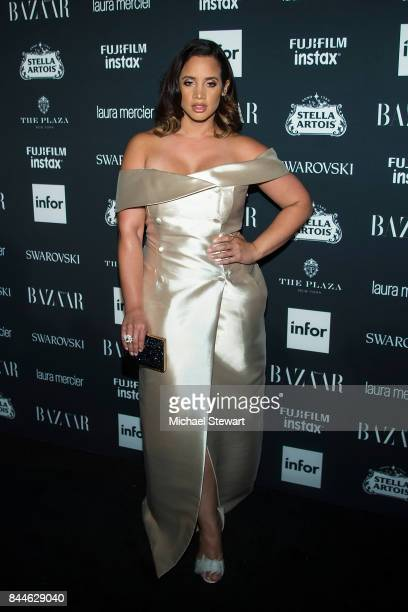 Dascha Polanco attends 2017 Harper's Bazaar Icons at The Plaza Hotel on September 8 2017 in New York City
