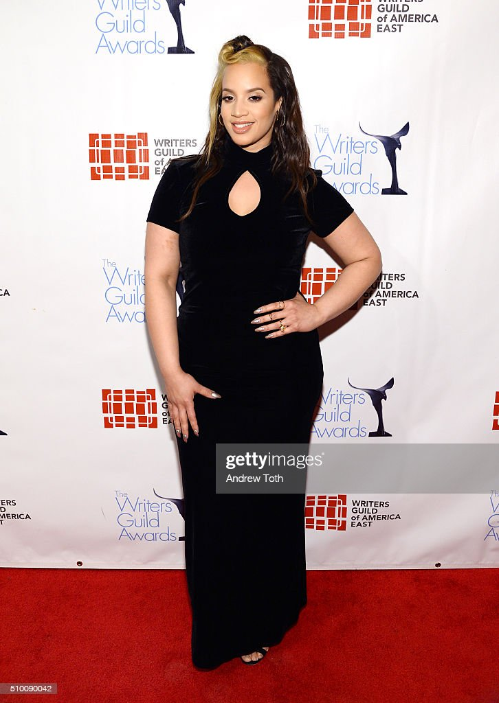 Dascha Polanco attends the 2016 Writers Guild Awards New York Ceremony at The Edison Ballroom on February 13 2016 in New York City