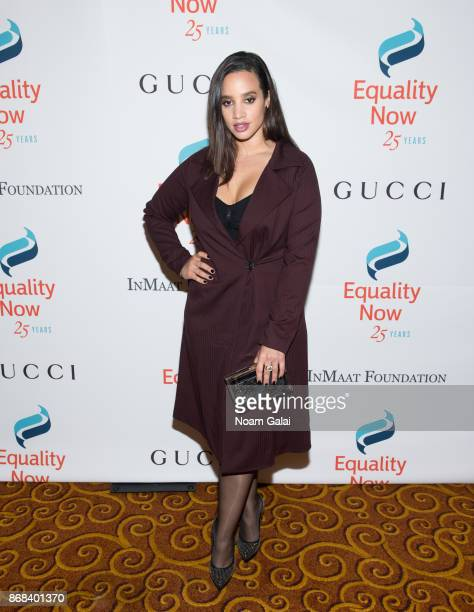 Dascha Polanco attends the 2017 Equality Now Gala at Gotham Hall on October 30 2017 in New York City