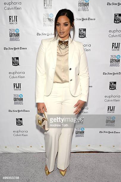 Dascha Polanco attends the 25th annual Gotham Independent Film Awards at Cipriani Wall Street on November 30 2015 in New York City