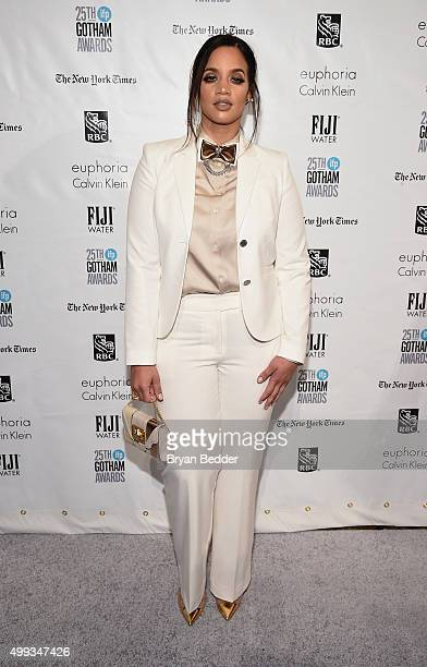 Dascha Polanco attends the 25th IFP Gotham Independent Film Awards cosponsored by FIJI Water on November 30 2015 in New York City