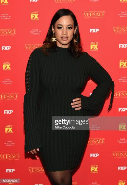 Dascha Polanco attends 'The Assassination Of Gianni Versace American Crime Story' New York Screening at Metrograph on December 11 2017 in New York...