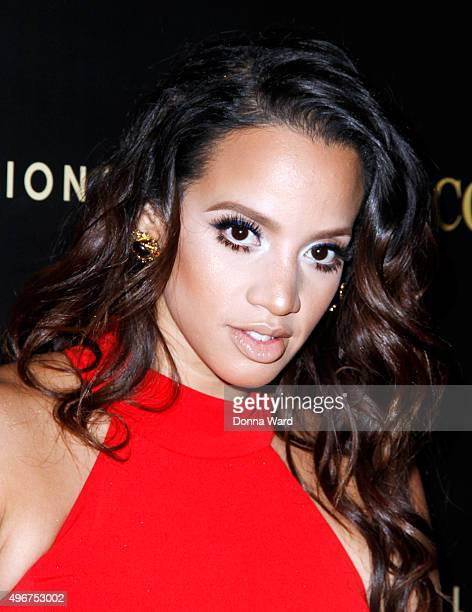 Dascha Polanco attends the Courvoisier Cognac's 'Exceptional Journey' Event at Industria Superstudio on November 11 2015 in New York City