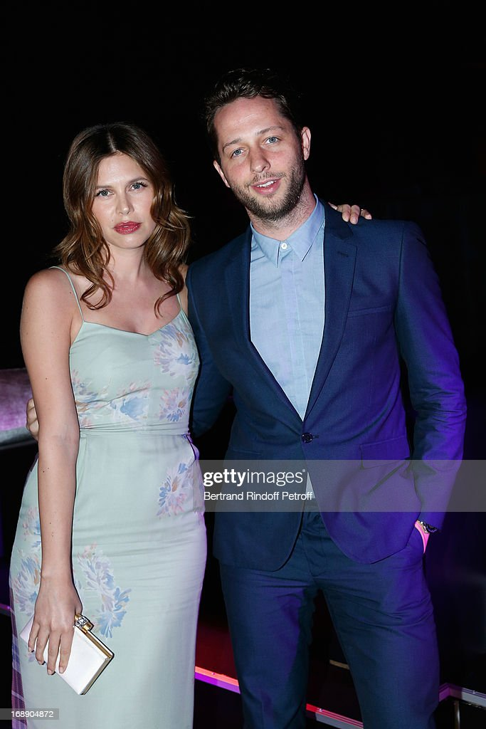 Dasha Zhukova and her brother attend the photocall of The Bling Ring Party Hosted By Louis Vuitton during the 66th Annual Cannes Film Festival at Club d'Albane/Marriott on May 16, 2013 in Cannes, France.