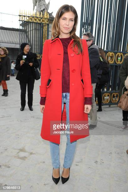 Dasha Zhukova arrives at the Valentino show as part of the Paris Fashion Week Womenswear Fall/Winter 20142015 on March 4 2014 in Paris France