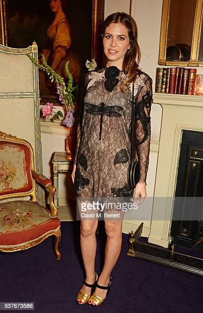 Dasha Zhukova attends the Gucci party at 106 Piccadilly in celebration of the Gucci Cruise 2017 fashion show on June 2 2016 in London England