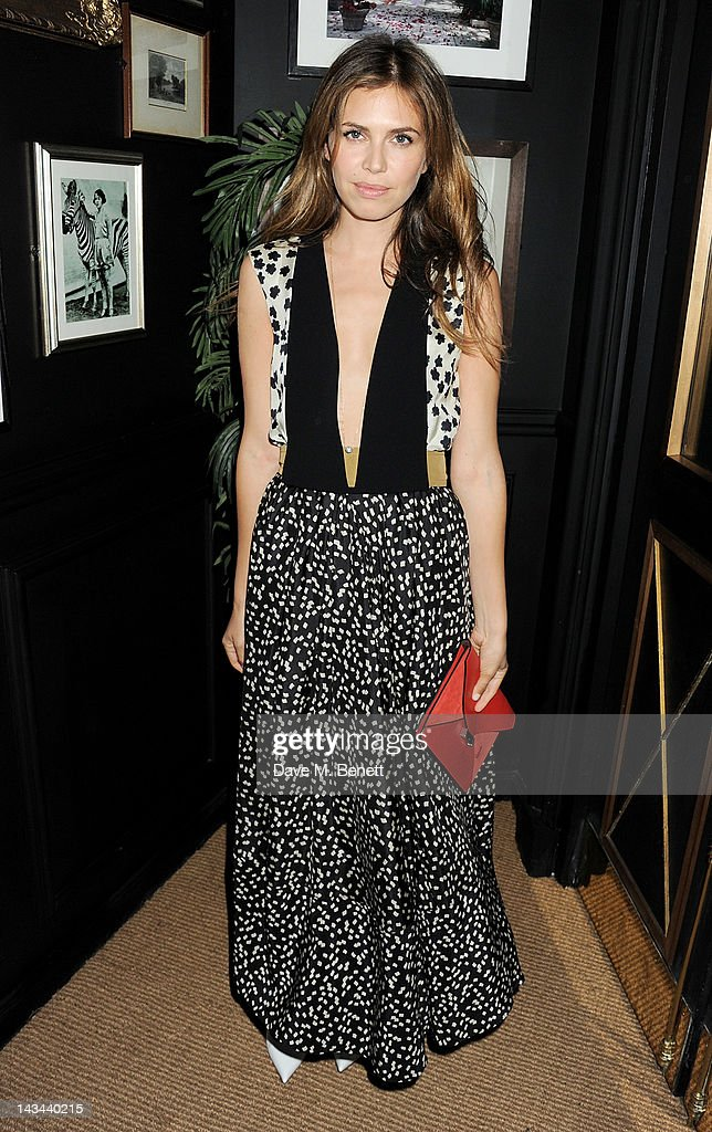 Dasha Zhukova attends the launch of The Lion pop-up restaurant at The Brompton Club featuring a private dinner for Joseph Altuzarra hosted by Browns on April 26, 2012 in London, England.