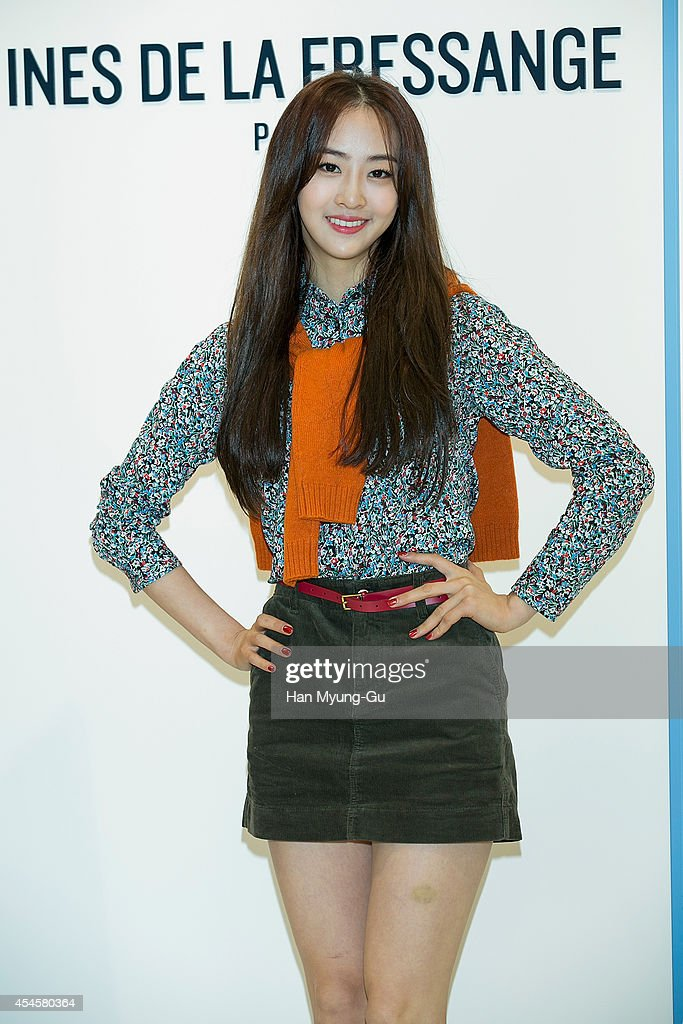 Dasom of South Korean girl group SISTAR attends the event for 'UNIQLO' 2014 FW Collaboration With Ines De La Fressange on September 3 2014 in Seoul...