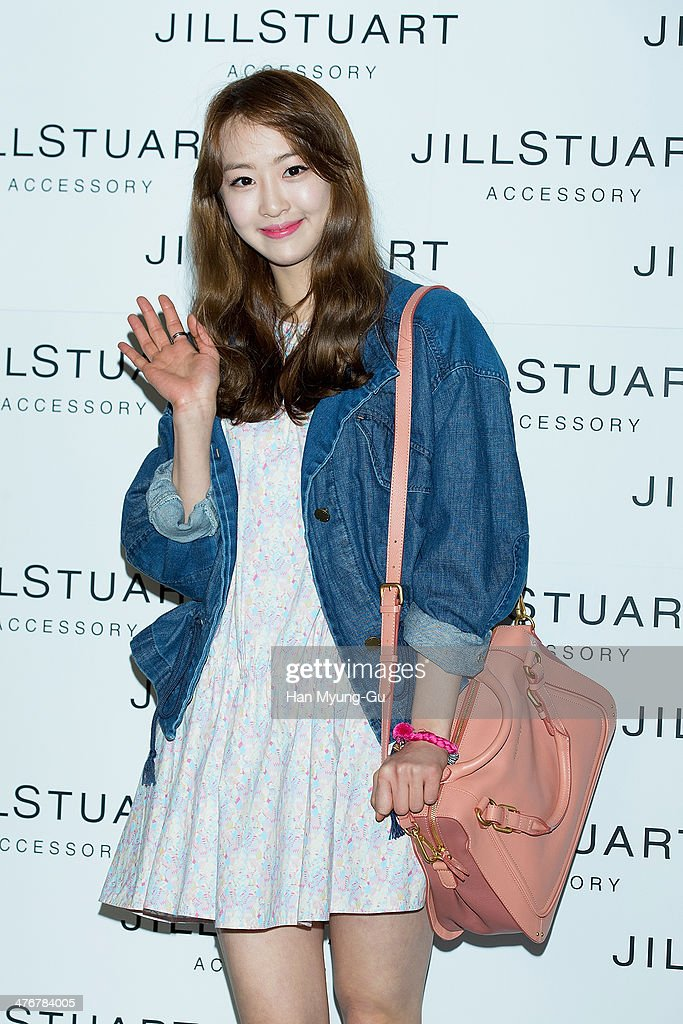 Dasom of South Korean girl group SISTAR attends the Jill Stuart Accessory 2014 F/W Presentation at Assouline Lounge on March 5 2014 in Seoul South...