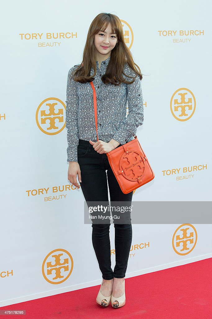 Dasom of South Korean girl group SISTAR attends 'Tory Burch' Eau De Parfum Launching Party at Tory Burch Flagship Store on February 26, 2014 in Seoul, South Korea.