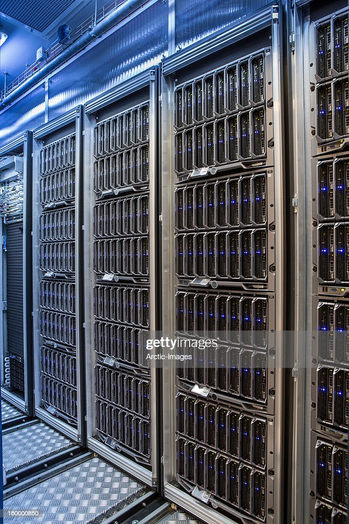 Data Center : Stock Photo