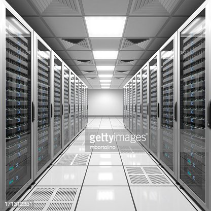 Data center - white