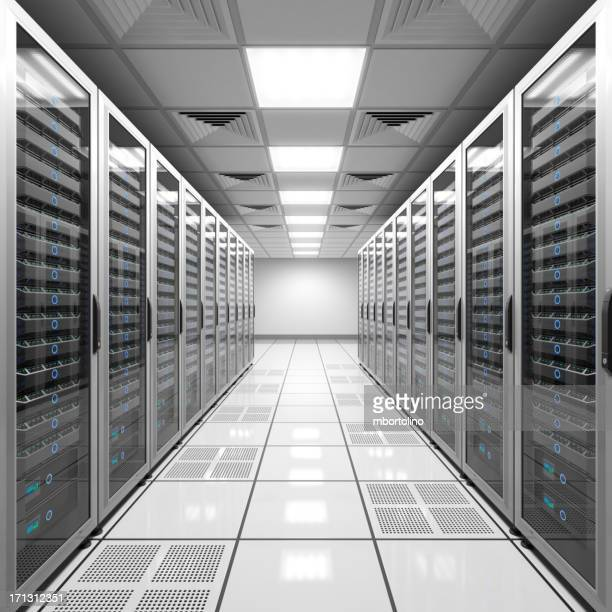 Data center - white