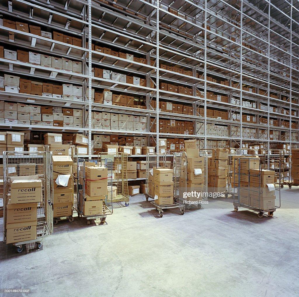 Data storage facility : Stock Photo