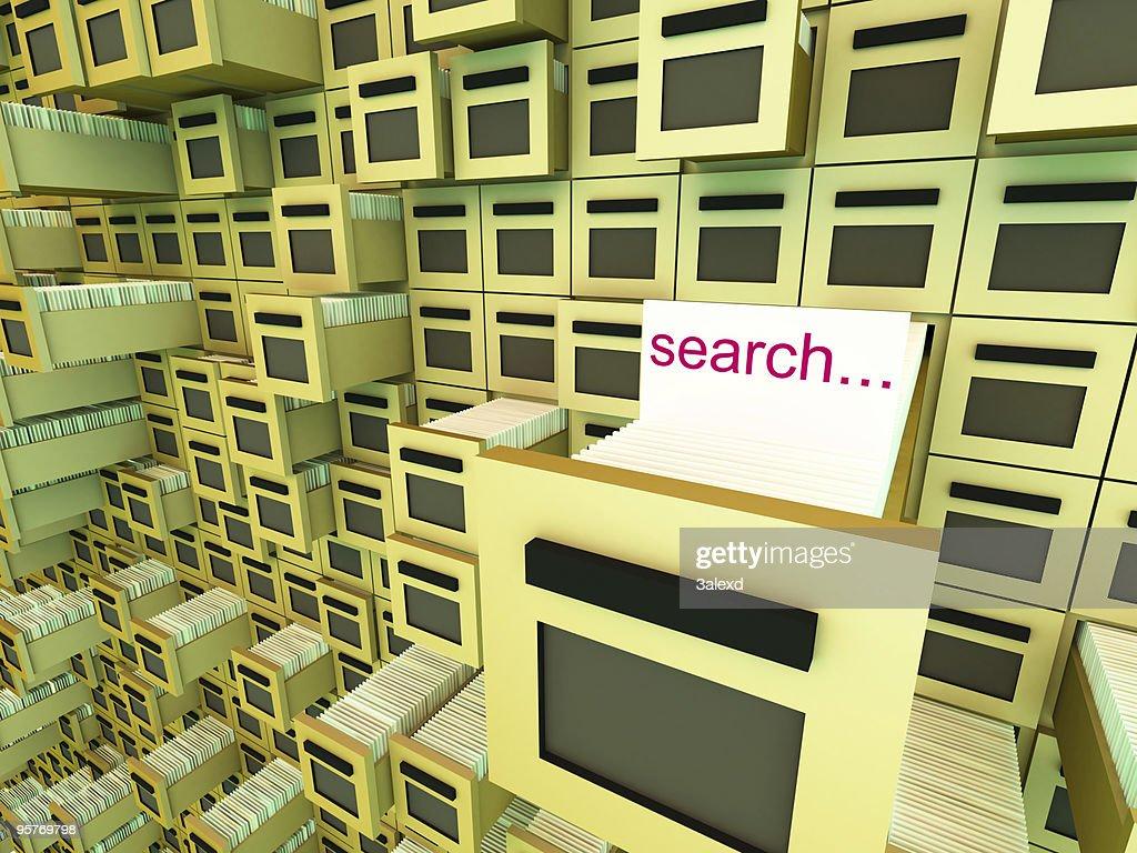 Database : Stockfoto