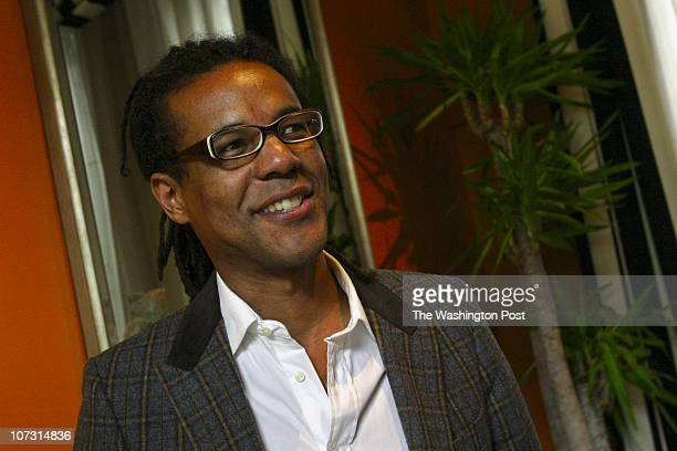 041706 Photographer Susan Biddle /TWP Neg#179469 Washington DC Colson Whitehead author of 'Apex Hides the Hurt' shown here at Hotel Monaco