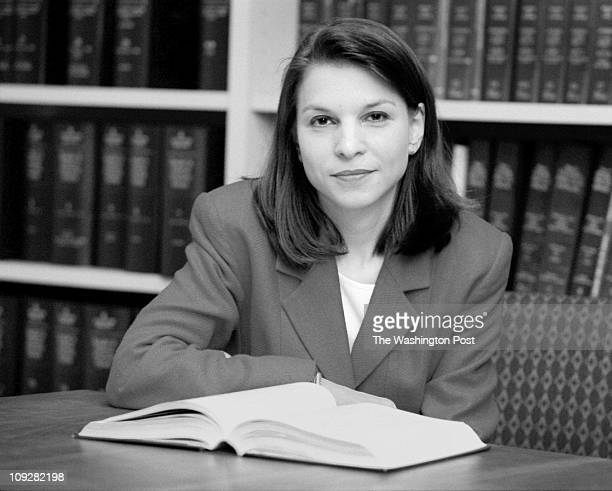 8/16/98 photographer Robert A Reeder/TWP The law offices of Williams and Connolly brief description Portrait of Nicole Seligman Portrait of Nicole...