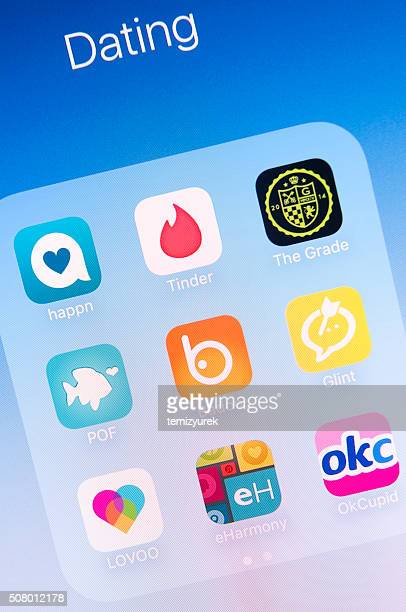 Dating Apps on Apple iPhone 6s Plus Screen
