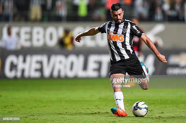Datolo of Atletico MG a match between Atletico MG and Flamengo as part of Brasileirao Series A 2014 at Independencia stadium on November 19 2014 in...