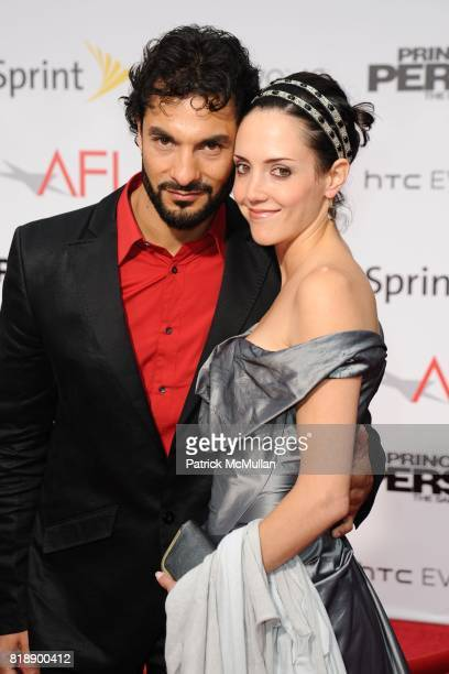 Daud Shah and Samantha Whittaker attend Prince of Persia Premiere at Grumans Chinese Theater on May 17 2010 in Hollywood California