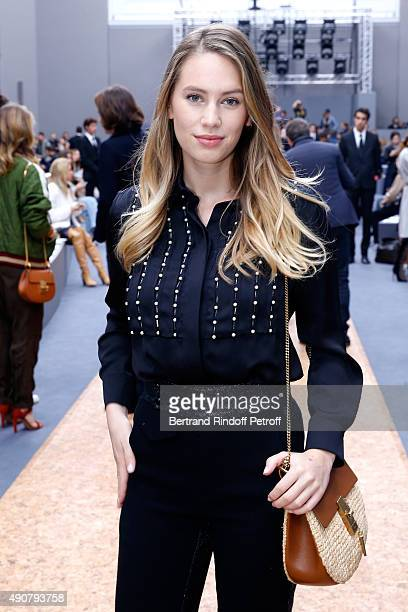 Daughter ao Sean Penn Model Dylan Frances Penn attends the Chloe show as part of the Paris Fashion Week Womenswear Spring/Summer 2016 on October 1...