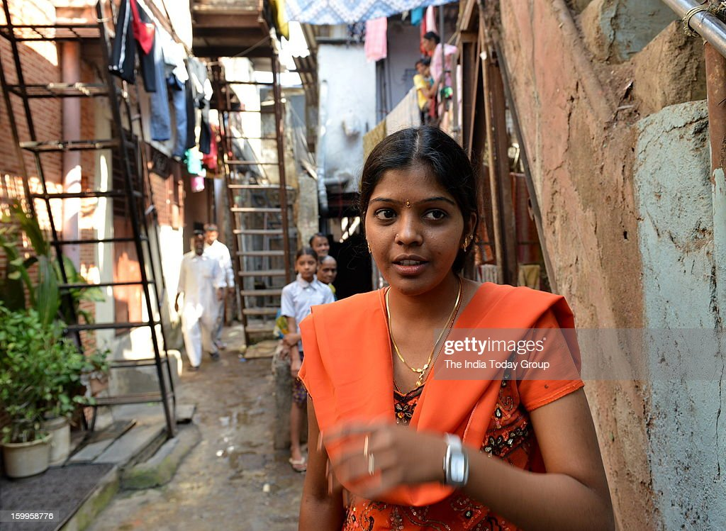 Daughter of a migrant Tamilian, an autorickshaw driver in Mumbai and living in a small tenement, Prema Jayakumar is now on top of the world, having topped the nationwide chartered accountancy (CA) exams. Prema with her family members at her home in Malad.