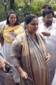 Daughter of Rashtriya Janta Dal President Lalu Prasad Yadav and Newly Member of Parliament for Rajya Sabha Misa Bharti with other Parliament Members...