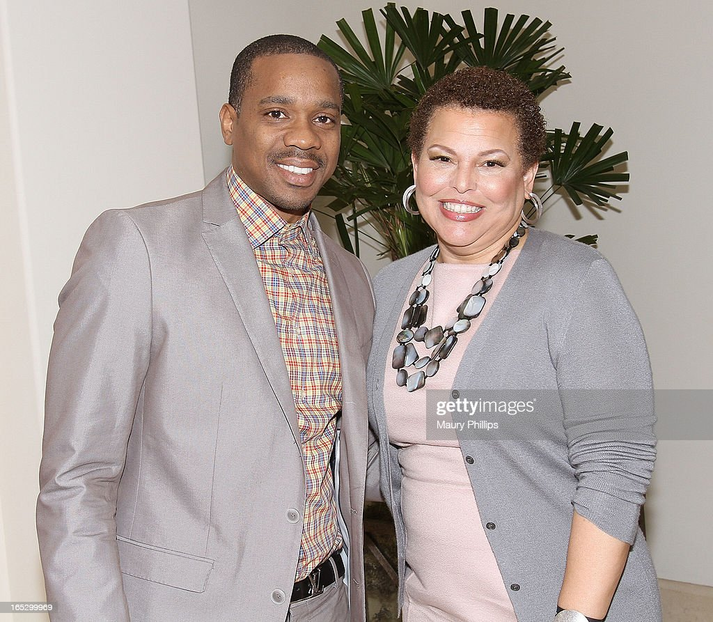 Daune Martin and chairman/CEO of BET Networks Derba Lee attend BET Networks 2013 Los Angeles Upfront at Montage Beverly Hills on April 2, 2013 in Beverly Hills, California.